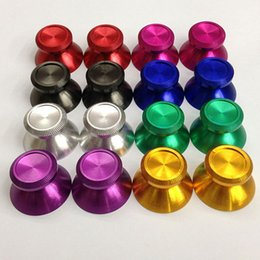 Wholesale Metal Analog Thumbstick Joystick Grip Caps for Sony PS4 Xbox One Controller