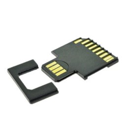 100pcs lotsThe New Micro SD TF to SD Memory Card Kit to USB Flash Disk Adapter Card Adapter Support 128GB