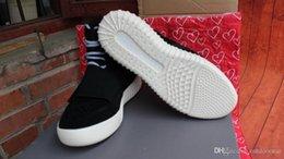 Wholesale Basketball Shoes gratis verzending nieuwe aankomst mannen en vrouwen mode sneakers yeezy hoge helpen