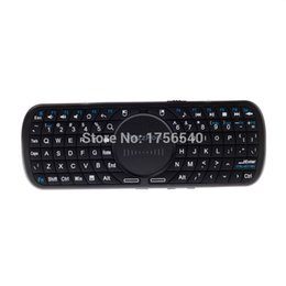 Wholesale iPazzPort GHz KP BV Mini QWERTY Wireless Keyboard Audio Transmission Touchpad Fit Windows XP CE Vista Linux Black