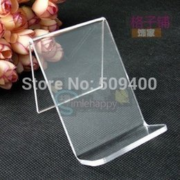 Wholesale Cell Mobile Phone MP3 MP4 Stand Sale Store Display Show Acrylic Holder Rack