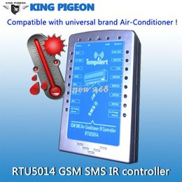 Wholesale SMS Remote Switch IR Air conditioner Remote Controller GSM Alarme System Factory Directly Sales Energy Saving RTU5014 Dual Band