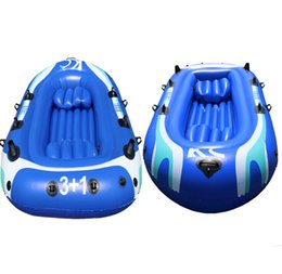 3 Person + 1 Child Fishing Boat 253*126*40cm Inflatable Boat,Fishing Boat,Kayak,Repair Patch, Include Paddle Pump,Free Shipping