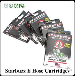 Wholesale High Quality Starbuzz E Hose cartridges Ecig Multi Flavor E Hose atomizer Starbuzz ehose Mod E Hose cartridges Hot sale e cigarette