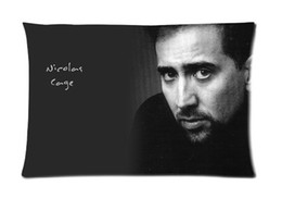 New Hot Nicolas Cage Custom Zippered Rectangle Pillowcases Pillow Case Size 50x75cm (Two sides)U2-171