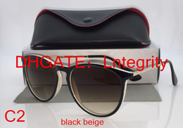 Wholesale top quality New hot Women s Designer Oculos Erika Sunglasses Glasses With Box Case Colors To Choose