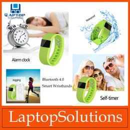 Wholesale Waterproof TW64 Bluetooth Smart Wristbands Fitness Activity Tracker Pedometer Sport Smartband Bracelets For IOS Android