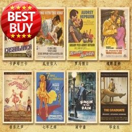 Wholesale-32 Pcs 1 Set 10*14 cm Vintage Style Famous Movie Rock Stars Postcards Gift Greeting Cards Collection Post Card Hot Sell