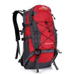 Mens 40L Travel Backpack Waterproof Wearproof Rucksack Climbing Camping Skiing Hiking Outdoor Mountaineering Professional Bag