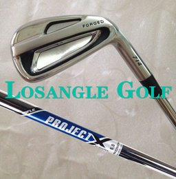 Wholesale New Forged Irons Set With Rifle Project X Steel Shaft High Quality P