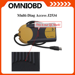 Wholesale Newest actia multidiag multi diag access passthru xs j2534 OBDII Diagnostci Tool Multi Diag DHL