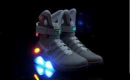 Wholesale EMS Trainers Marty McFly Mag Back To The Future Men s Basketball Shoes Mag limited edition