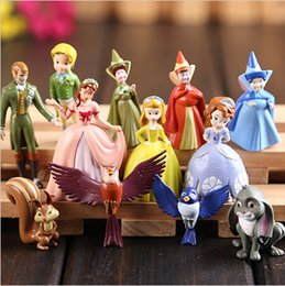Wholesale 12pcs set New Sofia the first PVC Figure Toys Princess Sofia PVC Doll Brithday Gift For Children