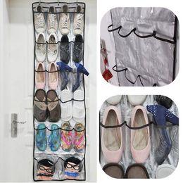 Wholesale High Quality Pockets Clear Over Door Hanging Baseroom Living Room Storage Bag Shoe Rack Hanger Storage Tidy Organizer A5