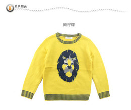 Wholesale Ann Childrens Boys autumn and winter clothing long sleeved sweater AB534522 two colors