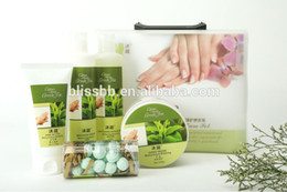 Wholesale Nourish amp Moisturizing Hand Care Set Soaking Fizz Salt Scrub Massage Cream Mask Cream Professional Hand and Foot Care Products
