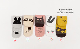 Wholesale infant cartoon animal pattern socks Baby boy girl cute cotton autumn winter warm Socks style size choose pairs T RK6864