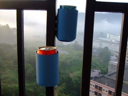Wholesale New Funny Blue magnetic beer can koozie Can cooler soda water coozie Stubby Holder Kooler for ml oz can