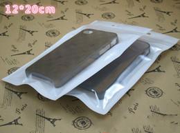 Lg sachets en plastique en Ligne-Zipper Retail Package Emballage Pochette de sac en plastique pour la couverture de cas de l'iPhone Couverture de téléphone portable htc lg samsung Accessoires Livraison gratuite