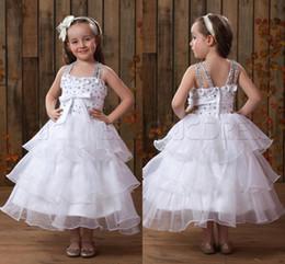 Wholesale Flower Girl Dresses for Weddings Girls Pageant Dresses for Little Girls vestidos de primera comunion robe fille mariage