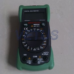 Wholesale cheap digital multimeter MS8233C LCD display AC DC voltage and DC current measure with Data hold function C
