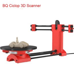 Wholesale DIY BQ Ciclop d scanner kit no red printed parts for d printer education designer and engineering Reprap d Open source