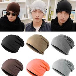 Wholesale-Hip Hop Women Men Knit Winter Warm Ski Crochet Slouch Hat Cap Beanie Oversized
