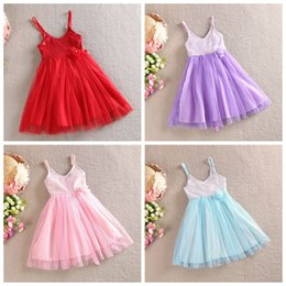 party baby girl princess dress long red sequin dress spaghetti strap girls dress free shipping in stock