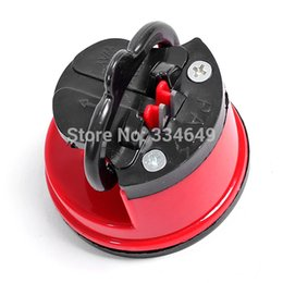 Wholesale Pad Kitchen Sharpening Tool steel Knife Sharpener with suction pad Scissors Grinder Secure Suction Chef Best Selling