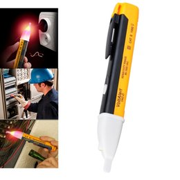 Wholesale Non Contact AC Circuit Voltage Sensor Detector Alert Tester Alarm Probe Stick Pen Electrical Instruments V Voltage Meters
