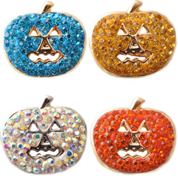 Wholesale D02606 Hot Snap buttons Jewelry fit Bracelet Bangles Antique Fashion DIY Charms Crystal Christmas Bell Design noosa chunk