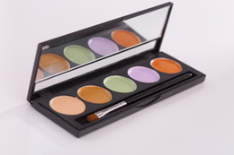 Wholesale Korea Quality Professional Concealer kit colors in one with brush Corrector Pro Concealar Pallete For Professional maquillaje