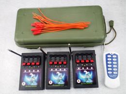 2017 les types d'incendie 2015 Waist-télécommande de type FCC passé CE 12 canaux d'artifice de tir Système Celebration Party 315-433MHZ extérieur portable, étanche abordable les types d'incendie