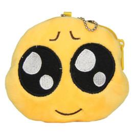Emoticon Design Round Purse Smiley Bag Hanged Chain Coin Wallet NVIE order<$18no track