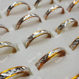 2000pcs 20sets nice rings hot sale wholesale lots pretty yellow aluminum alloy Rings New free shipping RL091