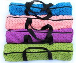 Wholesale Advanced professional fashion and multi functional Yoga Mat pack thick waterproof high quality Yoga Pilates Mat Case Pouch