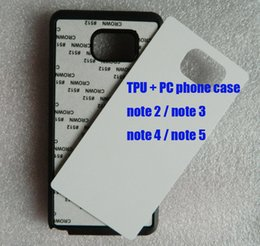 Wholesale For Samsung galaxy note note note note note Soft TPU PC sublimation case blank aluminium plate free ship DHL can mix
