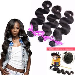 100% Remy Human hair extensions 3pcs lot Virgin Brazilain body wave hair weaves 100% unprocessed remy Human hair bundles 6a cheap hair weft