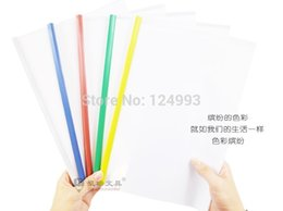 Wholesale factory supply office stationery stick file spine bar transparent sheet report cover A4 thickness c c c X30 CM