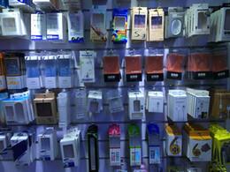 Usb de la caja de plástico en Línea-vacío 2 en 1 3en1 USB Cargador de pared Cable Car paquete al por menor Caja de papel de plástico para el teléfono Samsung S4 móvil Nota 4 S6