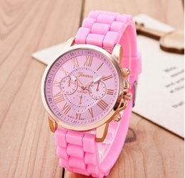 Wholesale 2015 Trade new silicone Rome literally two eye men leave the spot ladies watches
