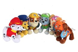 Wholesale 30pcs Styles cm Paw Dog Plush Toys Children Kids Plush Dolls Poppy Dog Stuffed Toy Fireman Sam Patrol Plush Toys