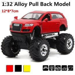 Wholesale Super SUV sports Q7 scale alloy pull back cars Diecast Metal car Box packing best gift
