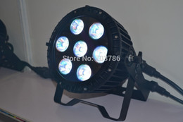 Wholesale No Flicker W RGBWA UV in Led waterproof par Can Wedding Light Equipment Rental Outdoor Led Wall Washer Light IP65