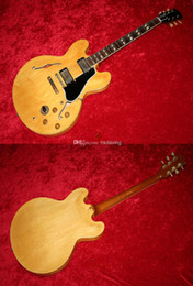Wholesale Best selling HotCustom shop Sunburst Yellow electric guitar China Guitar Excellent Quality