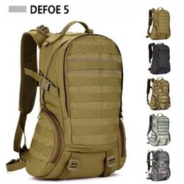 Wholesale Camping bags Waterproof Molle Backpack Military P Gym School Trekking Ripstop Woodland Tactical Gear for men L Drop Shipping