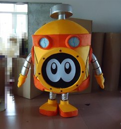 Wholesale custom made Android Robot Mascot Costume party dresses costume made mascots costumes for adult fancy dress