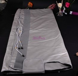 Wholesale Fat burning Waterproof Zones Far Infrared Blanket Sauna Slimming weight loss heating therapy wrap detox beauty health care