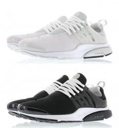 online shopping 2016 AIR PRESTO BR QS Breathe Light Running Shoes Women Men Sport Athletic Walking Sneakers black white Response Cushion Hurdle Spikes Shoes