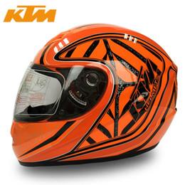 KTM Motorcycle Full Face Helmet Street Racing Motorbike Casque Casco Capacete Protective Gear
